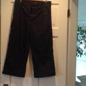 Sofie d'hoore cropped wide denim pants
